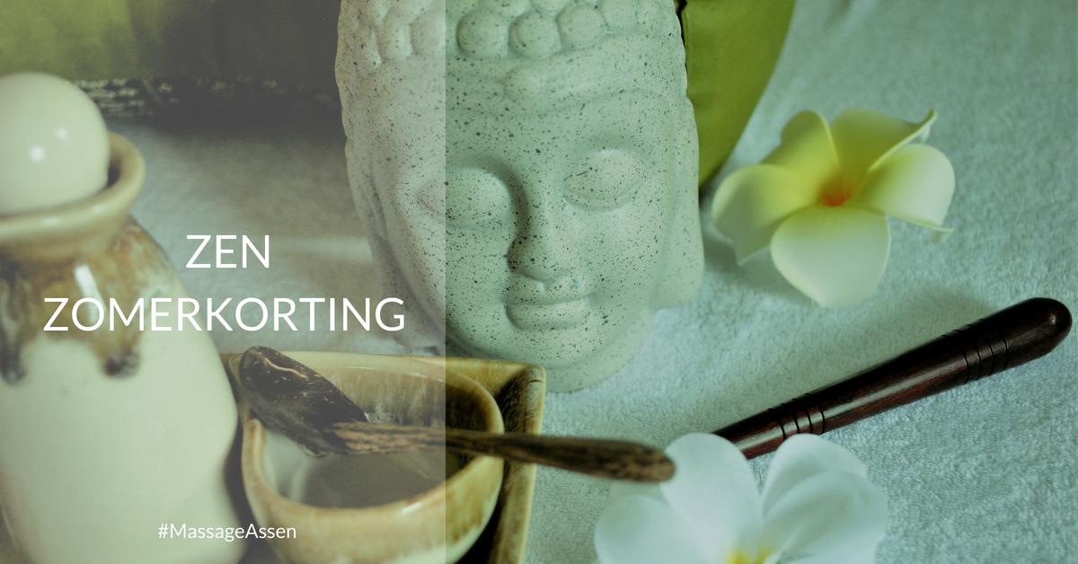 ACTIE! Zen Zomerkorting op combinatie massages